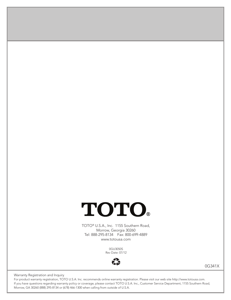Factory Direct Hardware Toto TEL3LW10#CP User Manual | Page 36 / 36 ...