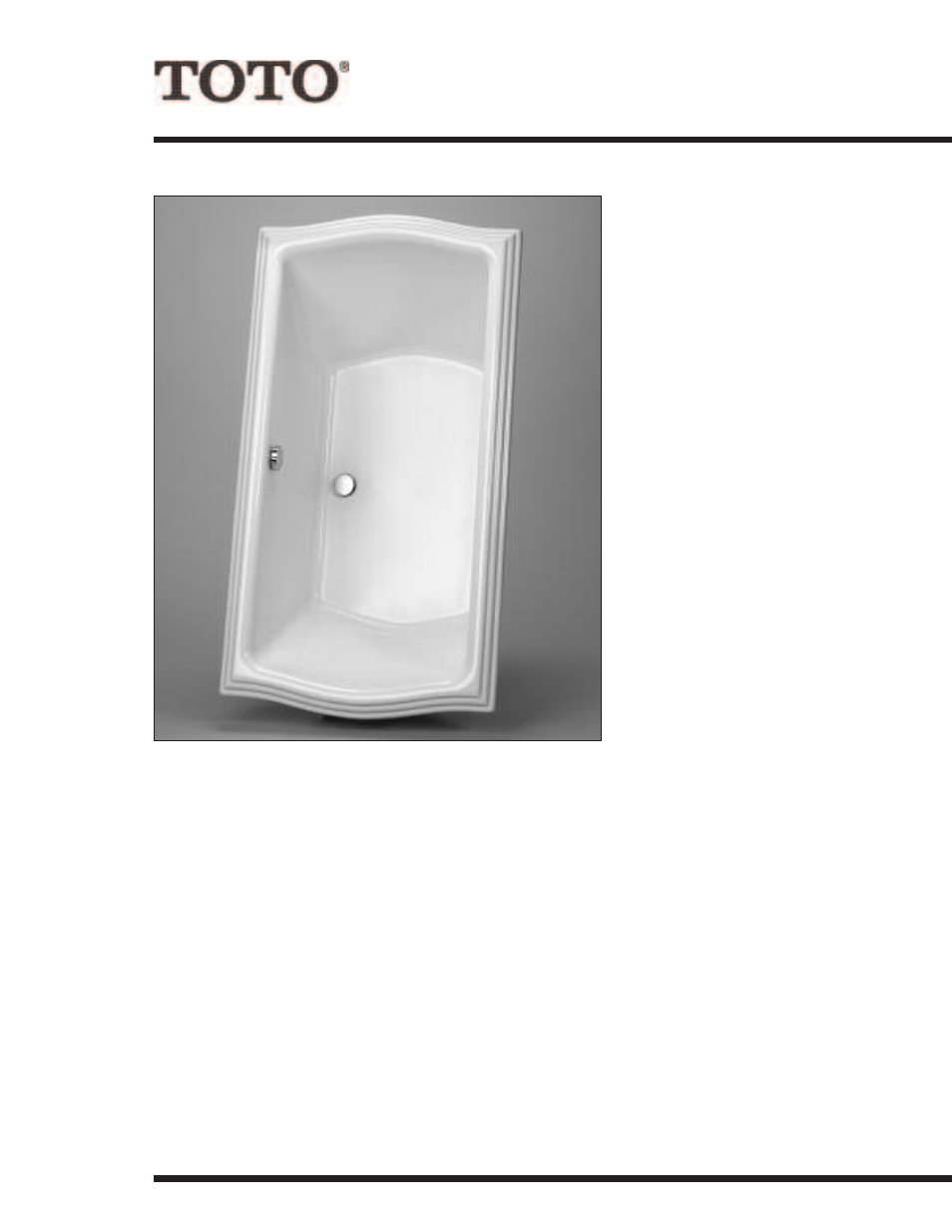 Factory Direct Hardware Toto ABY781NY User Manual | 2 pages