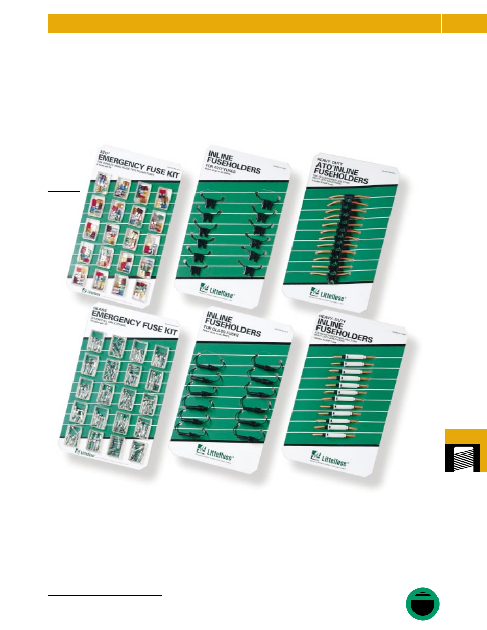 Littelfuse 094303 Series User Manual 1 Page Fuse Box Holder