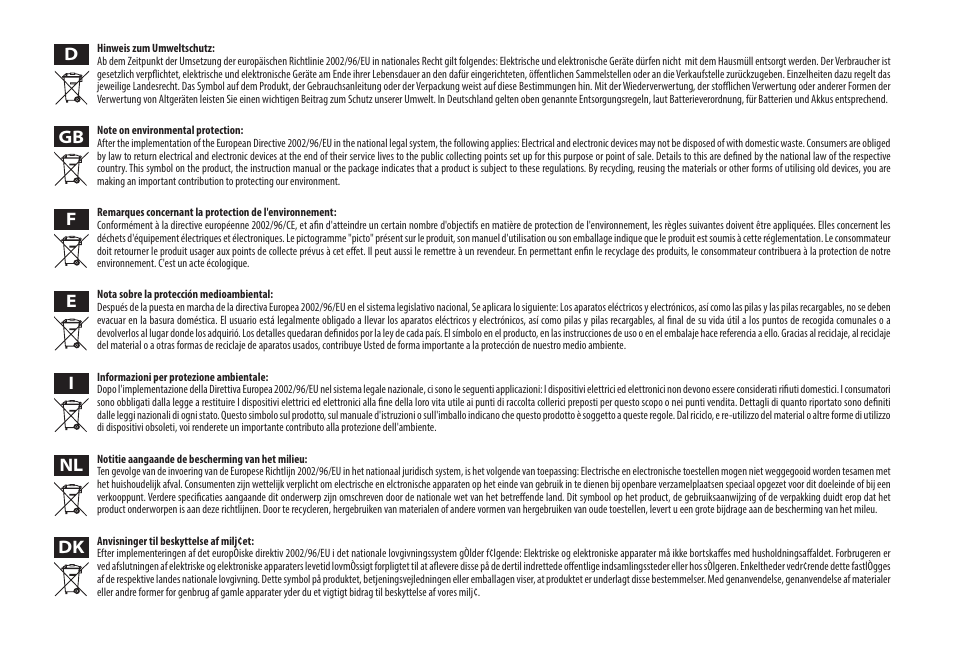 Mt4046-manual_weee   Media-Tech U-DRIVE MIRROR BT User Manual   Page ...