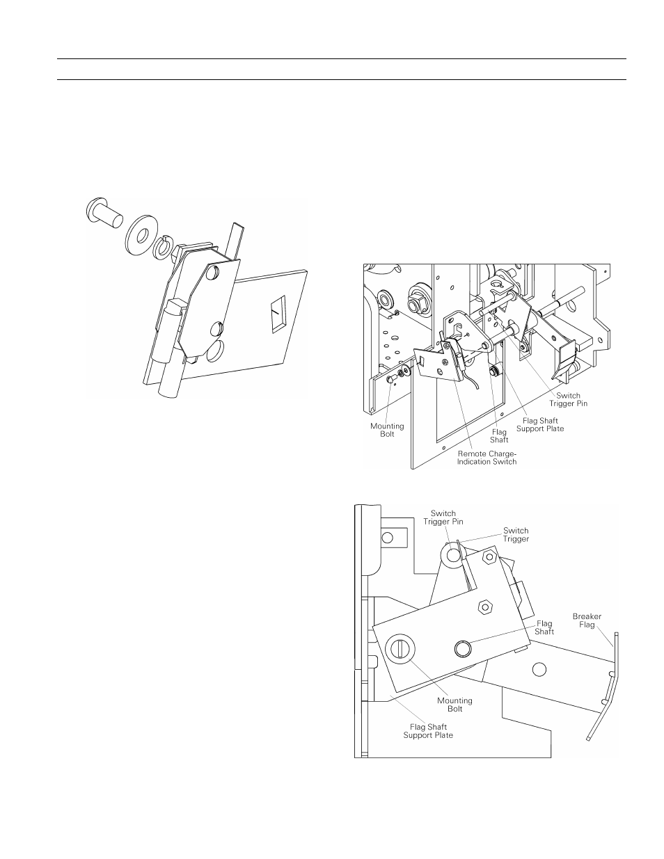 6 Remote Charge Indication Switch Ge Industrial Solutions Wiring Diagram Entelliguard 8002000 A Frames 240600 Vac Maintenance Manual User Page 57 64
