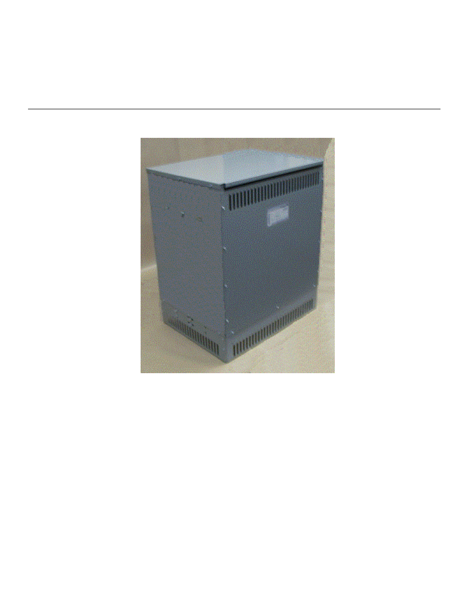 GE Industrial Solutions Fan Assisted Cooling (FAC) Dry-Type Transformers  User Manual | 8 pages