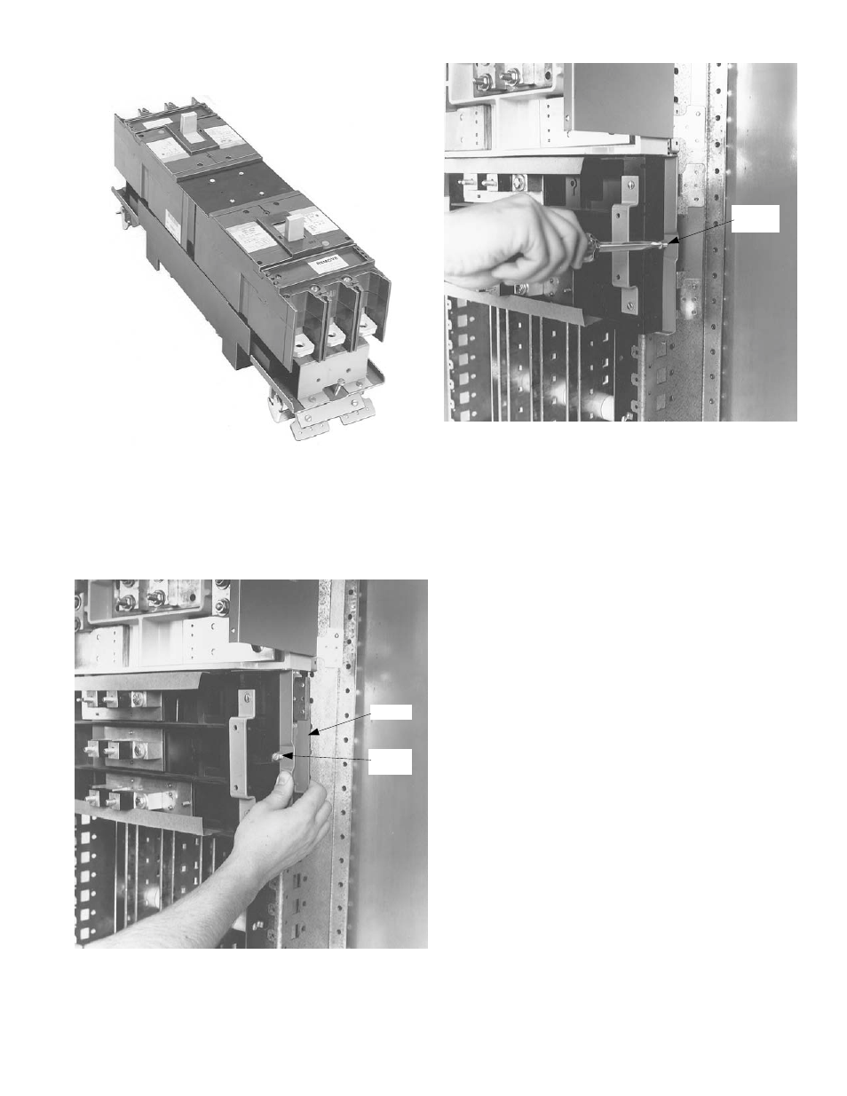 Geh 5673p3 Ge Industrial Solutions Spectra Series Power Wiring Diagram Panelboards Amc4gb And Amc6gb User Manual Page 3 4