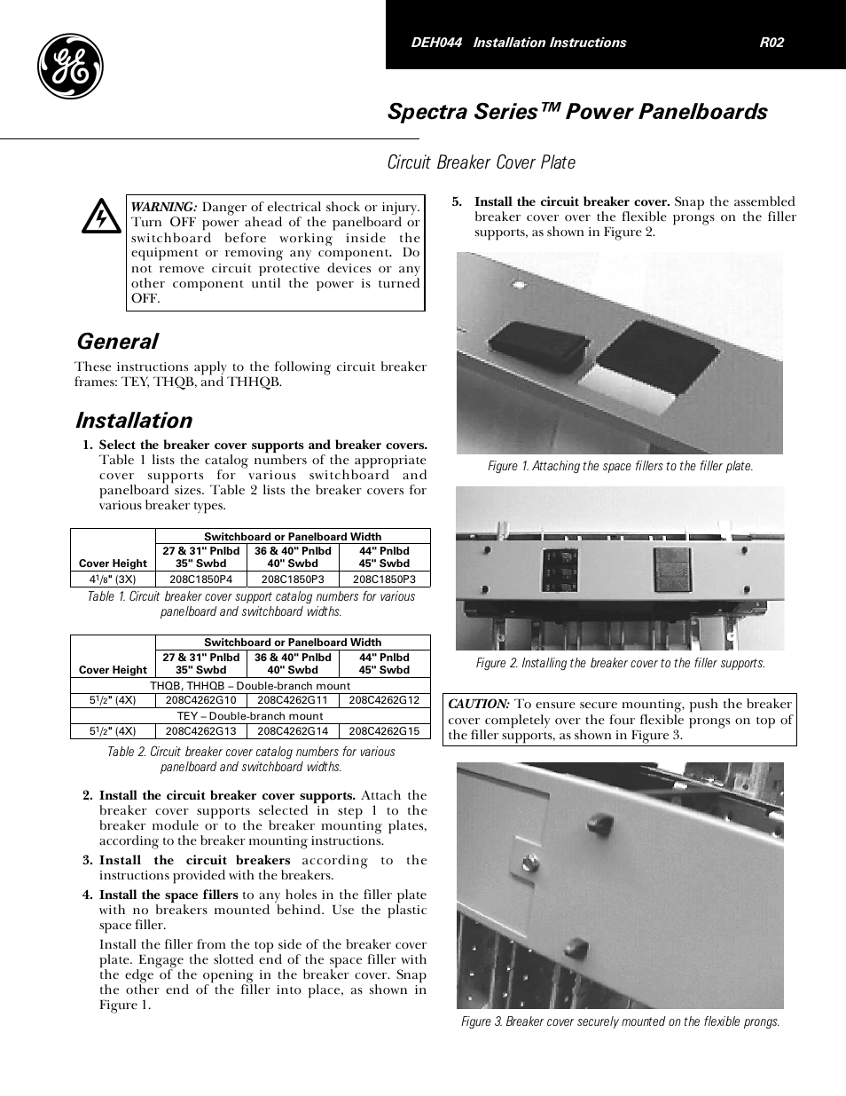 Circuit Breaker Panel Manual Guide