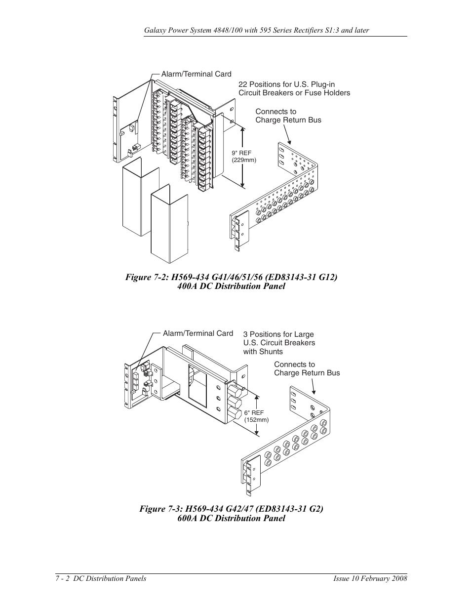 Figure 7 2 H569 434 G41 46 51 56 Ed83143 31 G12 400a Dc Galaxy Car Alarms Wiring Diagram 3 G42 47 G2 Ge Industrial Solutions Gps 4848 100 Users Guide Single Rectifier Shelf User Manual Page 106