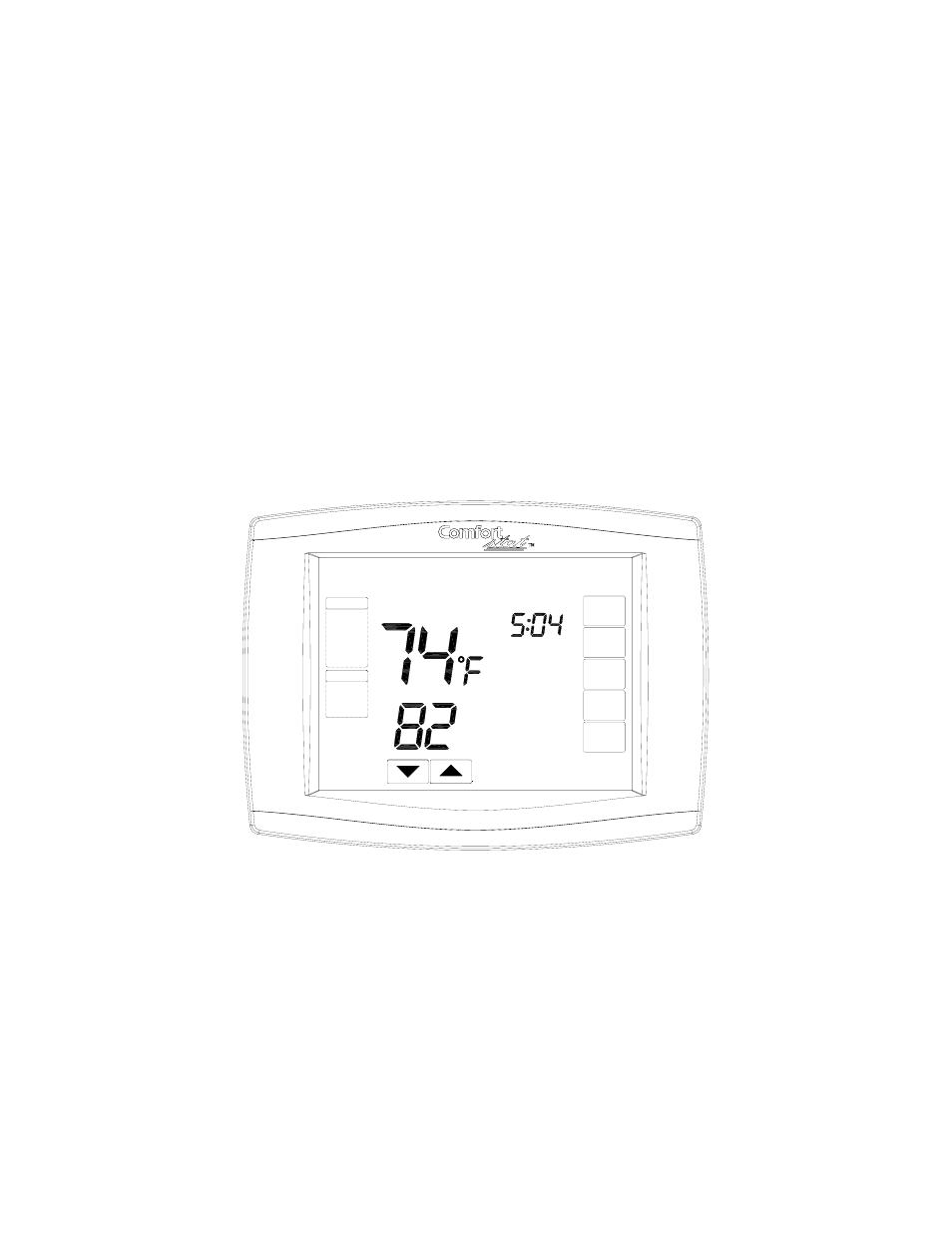 comfort stat cdt901 user manual