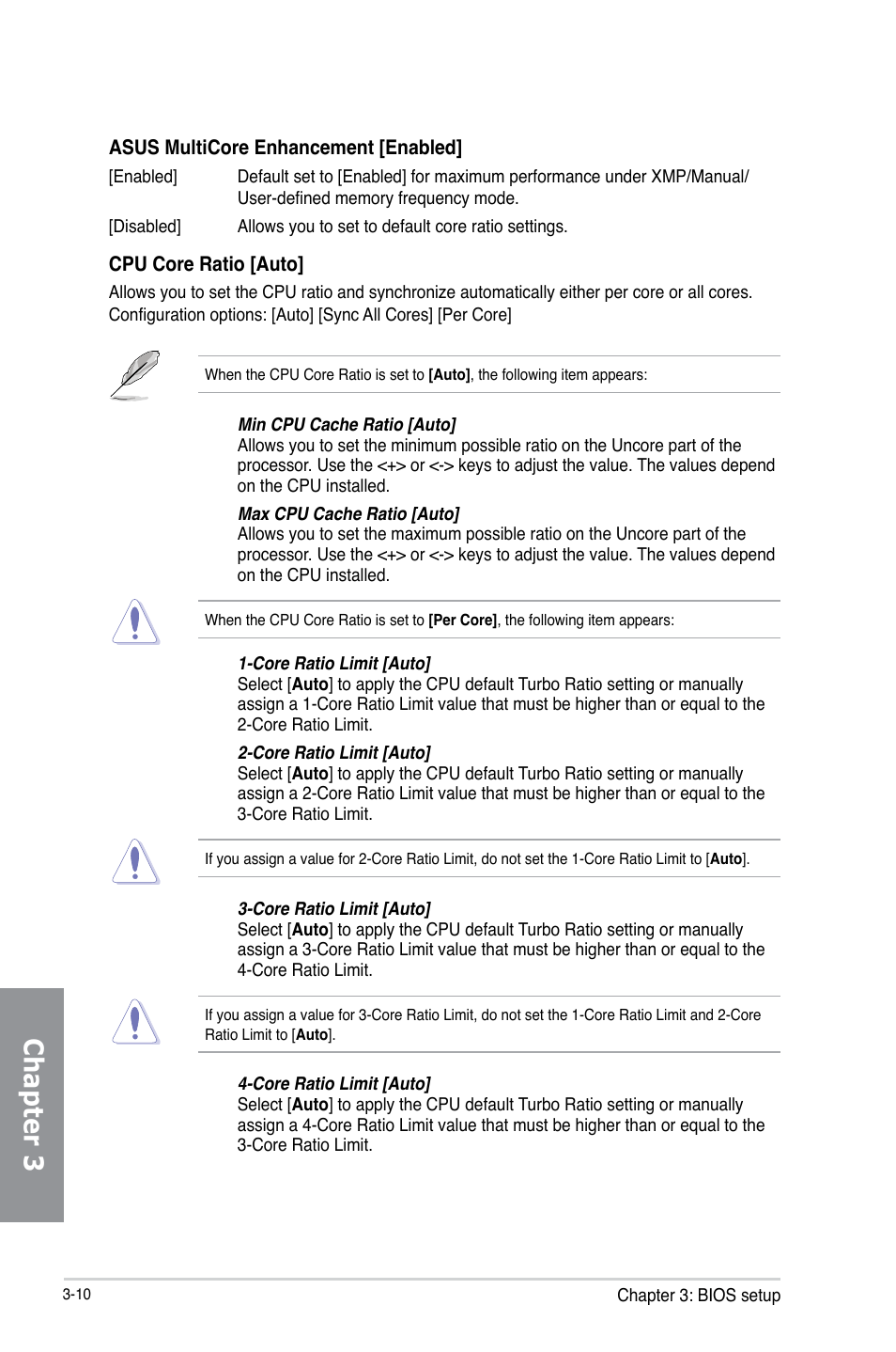 Chapter 3 | Asus H87-PLUS User Manual | Page 62 / 136