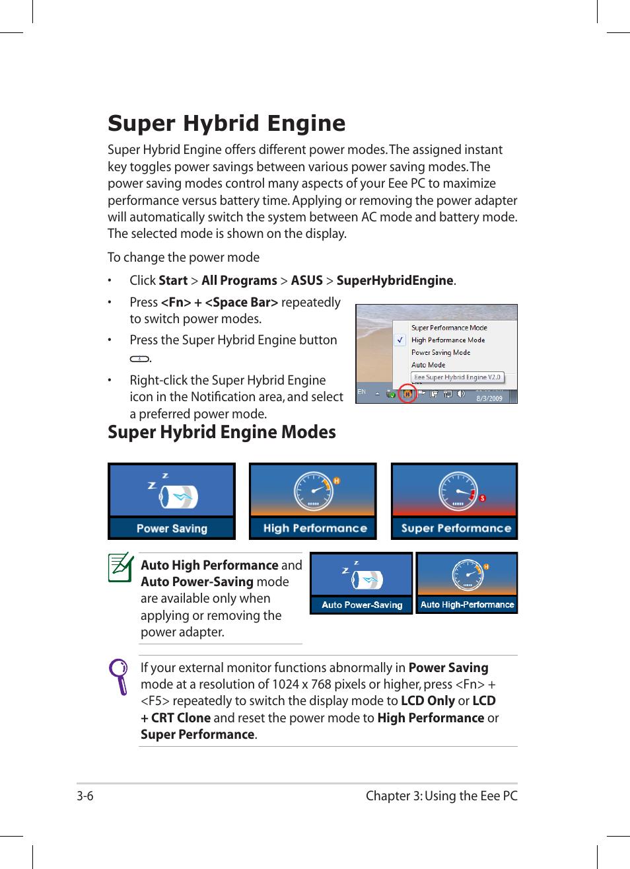Super Hybrid Engine Modes 6