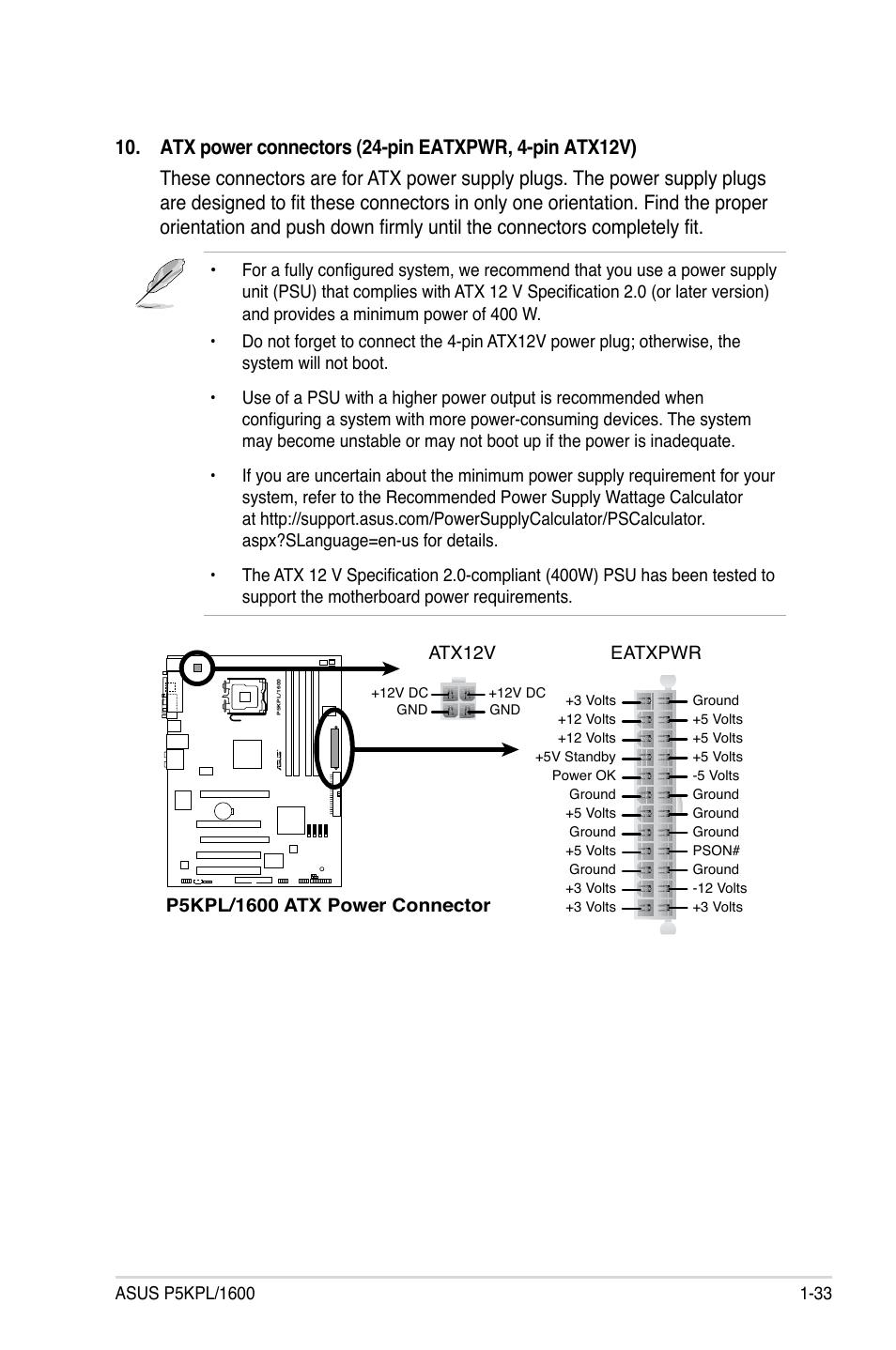 Asus p5kpl-c 1600 manuals.