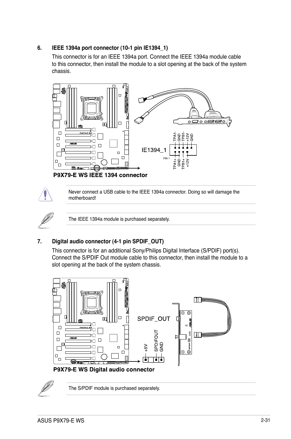 Asus P9x79 E Ws Manual Best Photos Of Usb Cable Wiring Diagram User Page 55 180