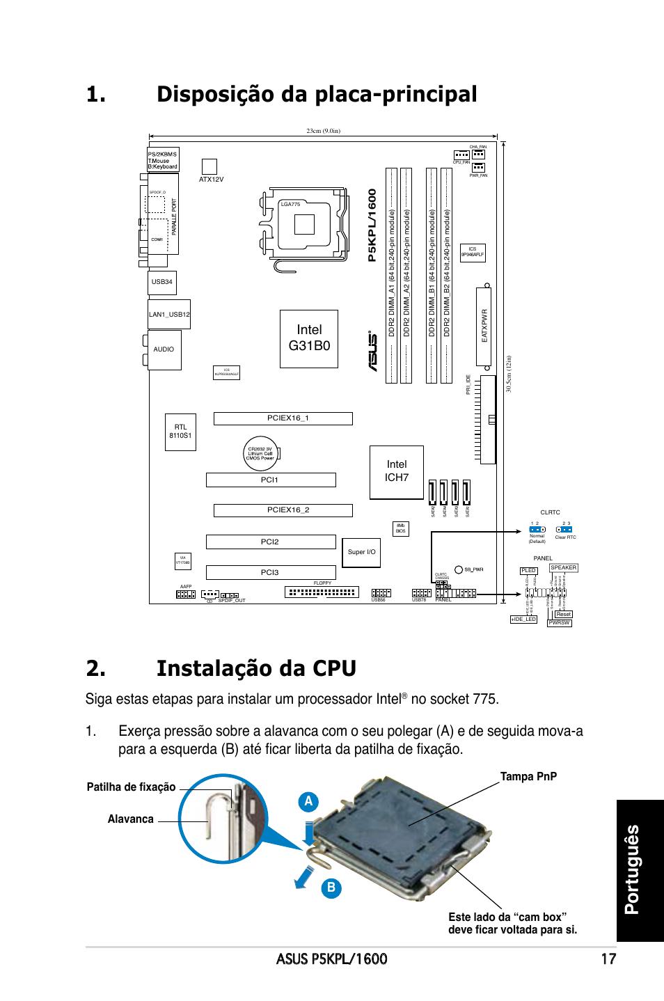 Asus p5kpl/1600 intel g31 lga775 ddr2 motherboard.