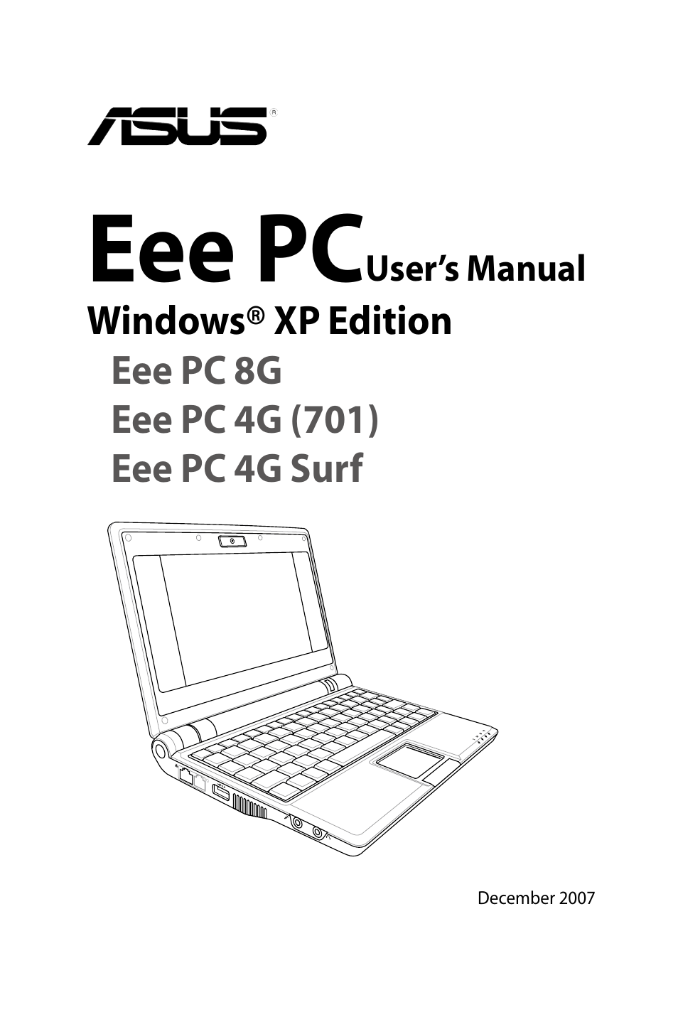 asus eee pc 8g xp user manual 74 pages also for eee pc 4g xp rh manualsdir com manual netbook asus eee pc 4g asus eee pc 701 4g manual