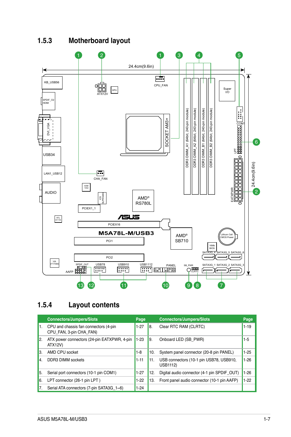 Asus Front Panel Connector Diagram Trusted Wiring Diagrams Usb Motherboard Wire 3 Layout 4 Contents 7 Dell Inspiron