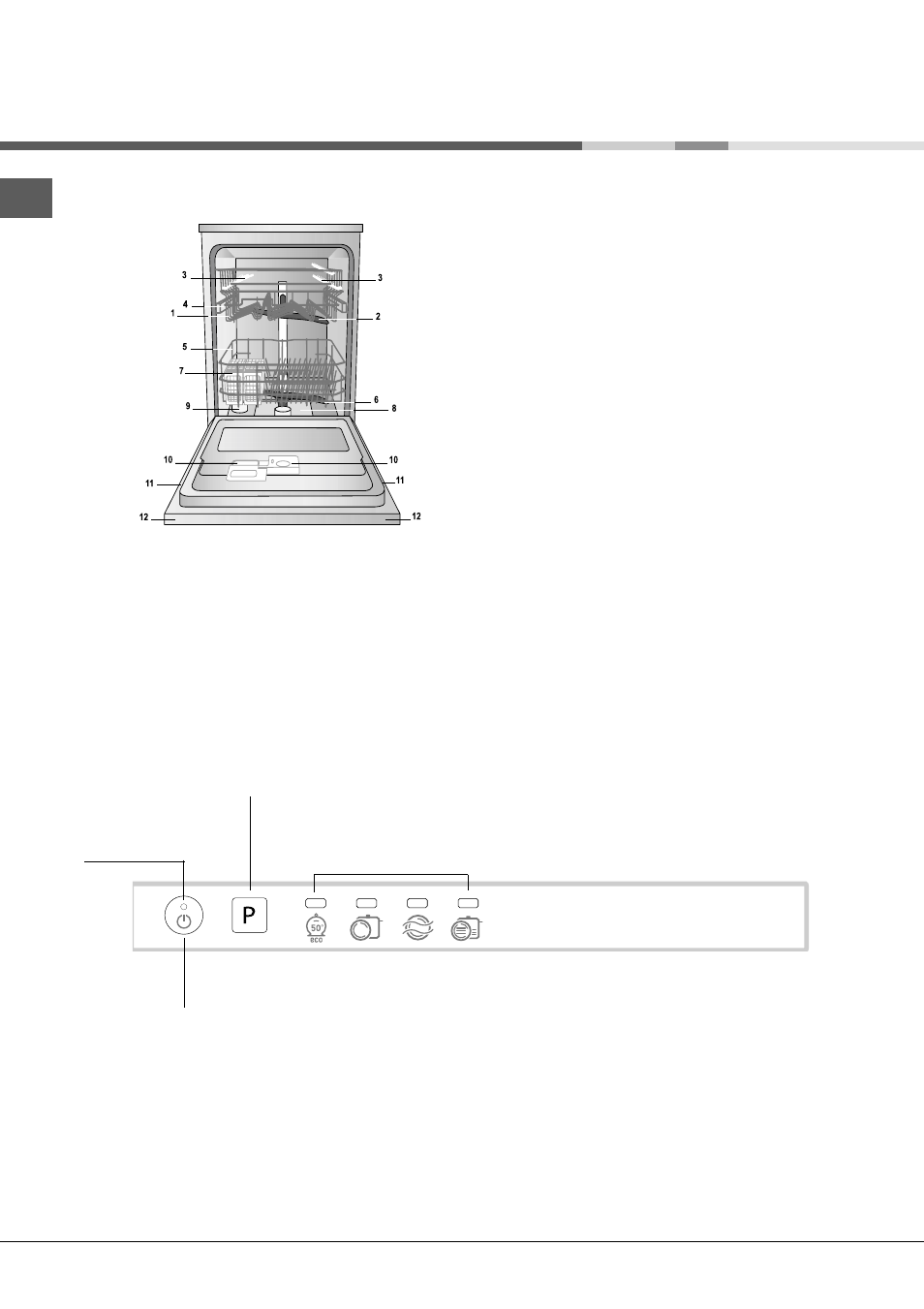 Description de l'appareil | Hotpoint Ariston LFT 114/HA User Manual | Page