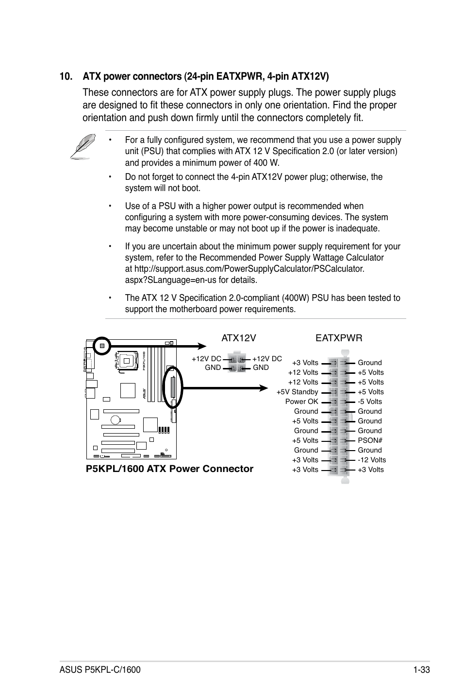 Asus P5kpl 1600 User Manual Page 45 96 12 To 24 Volt Wiring Diagram 4 Prong