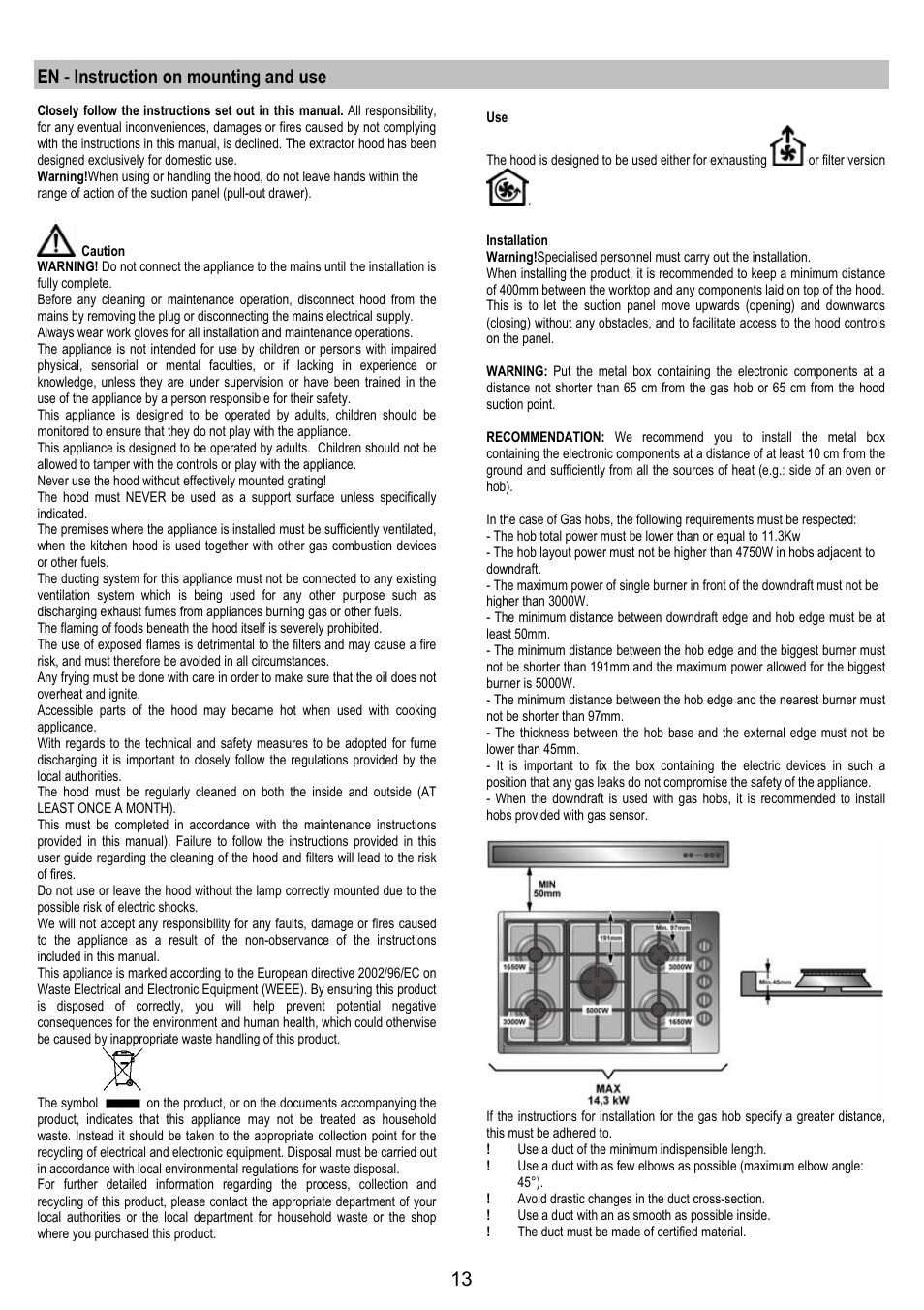 en instruction on mounting and use aeg dh1690 m user manual rh manualsdir com User Guide Icon iPad Manual