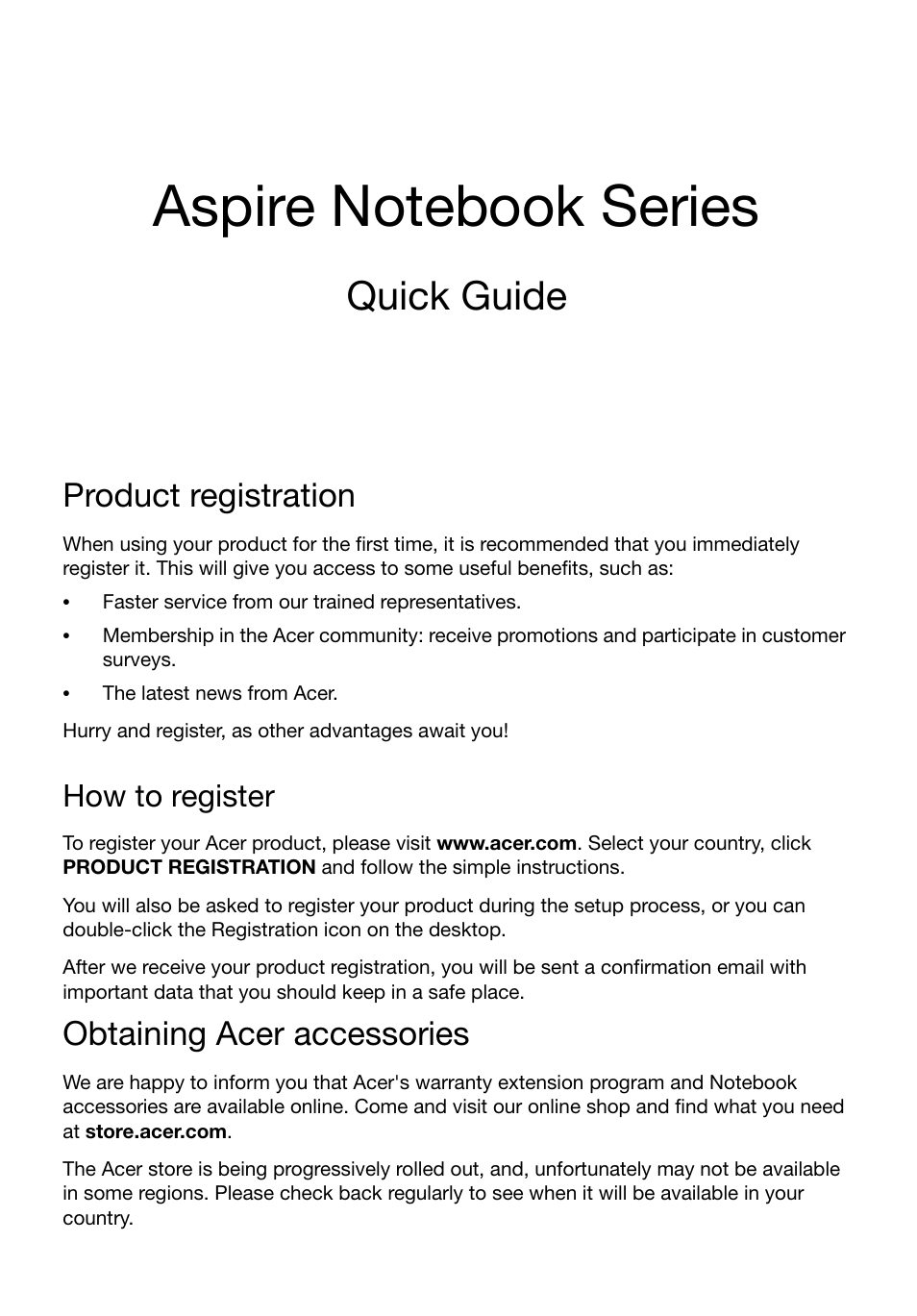Acer Aspire 5749Z User Manual | 10 pages | Also for: Aspire 5749, Aspire  5349