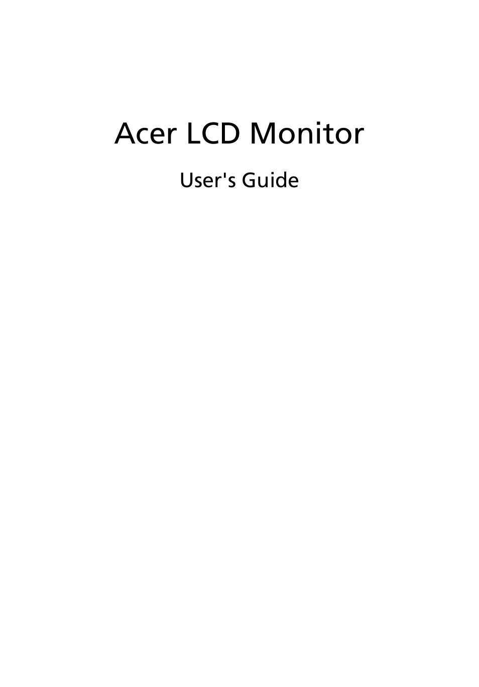 acer k222hql user manual 27 pages rh manualsdir com acer lcd monitor k242hl manual acer lcd monitor k242hl manual
