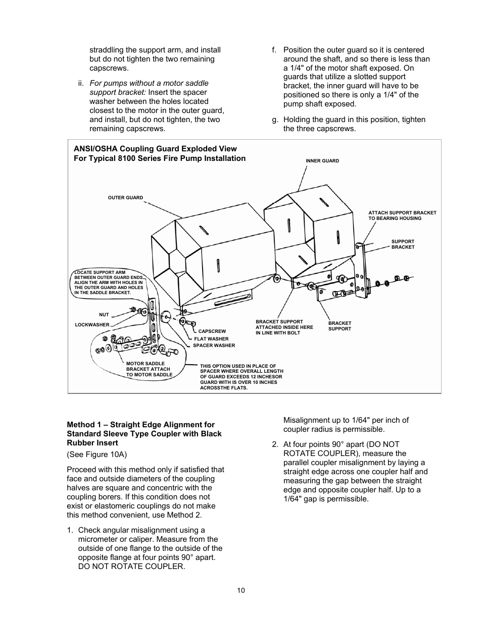 Xylem 8100 Series Centrifugal Pumps AC2515 REV C User Manual