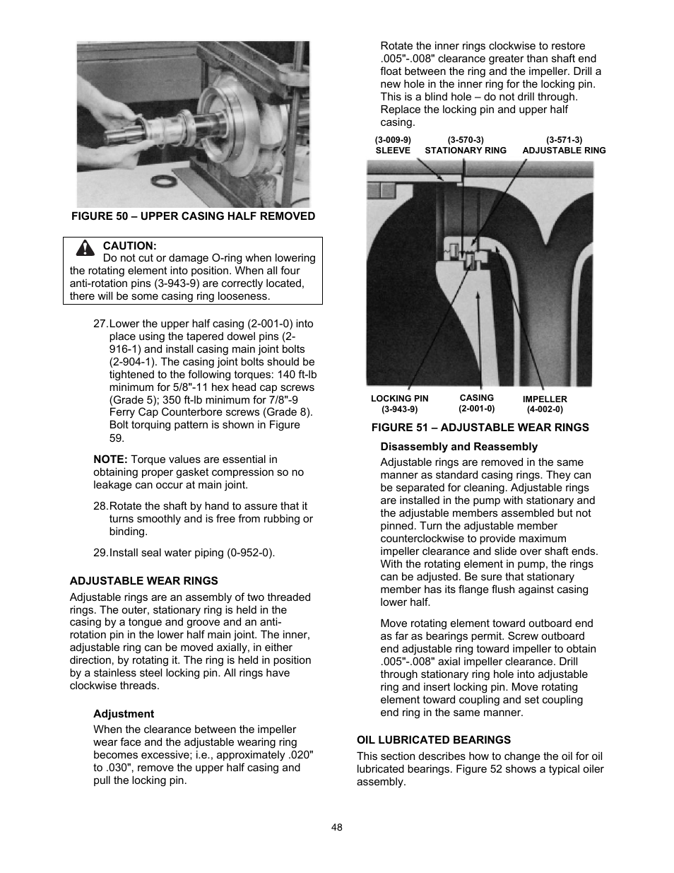 Xylem 8100 Series Centrifugal Pumps Ac2515 Revc User Manual Page