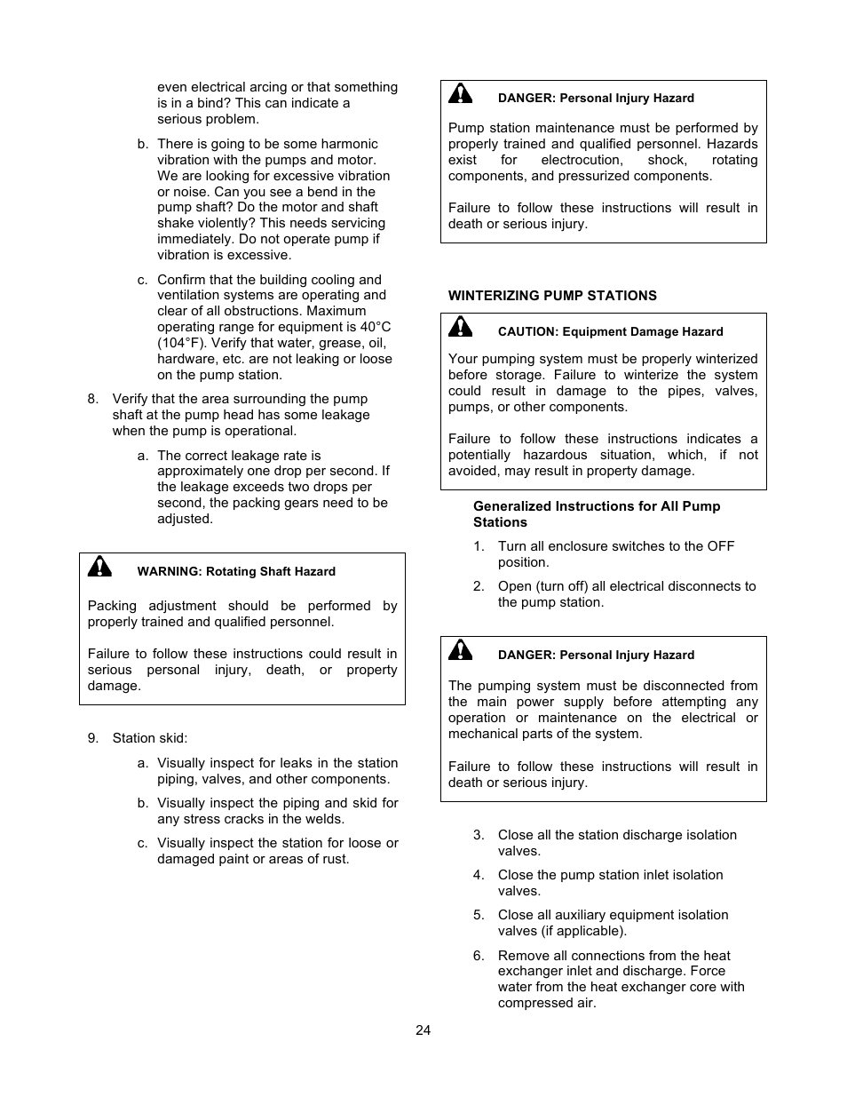 Xylem 19 001 200 R2 SILENT STORM VFD Pumping System User Manual | Page 26 /