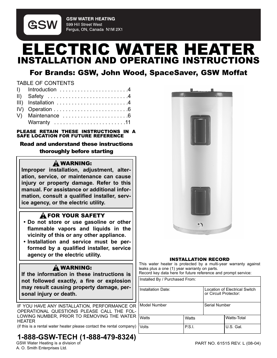 Troubleshooting Electric Hot Water Heater Manual Guide