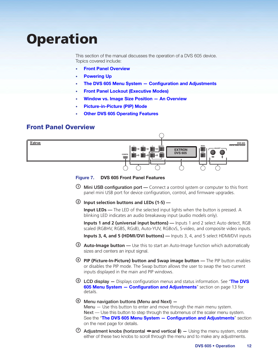 operation front panel overview extron electronics dvs 605 user rh manualsdir com user guide and manual for hp 870-244 user guide and manual for hp 870-244