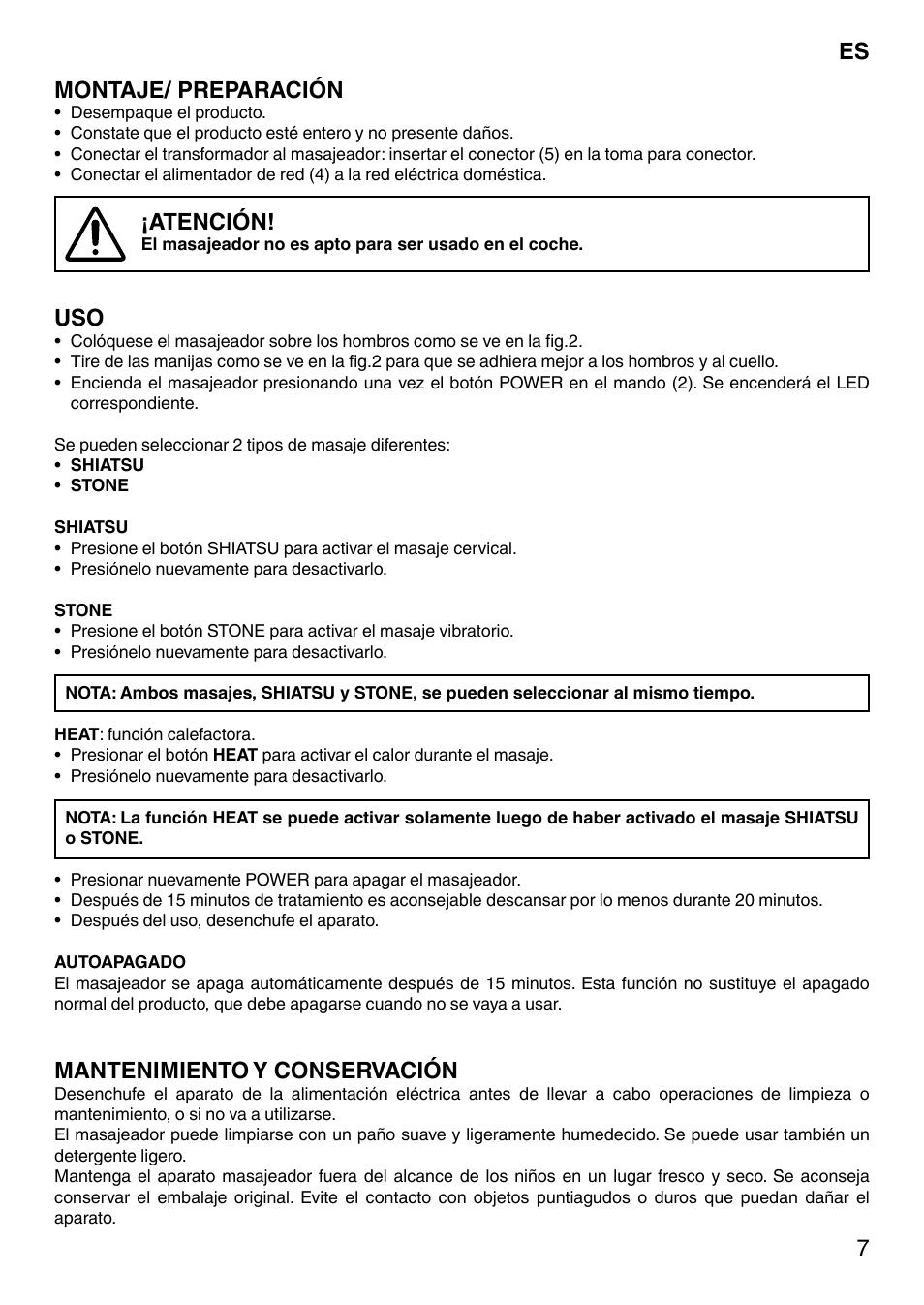 Imetec Sensuij Mc1 200.7montaje Preparacion Atencion Mantenimiento Y
