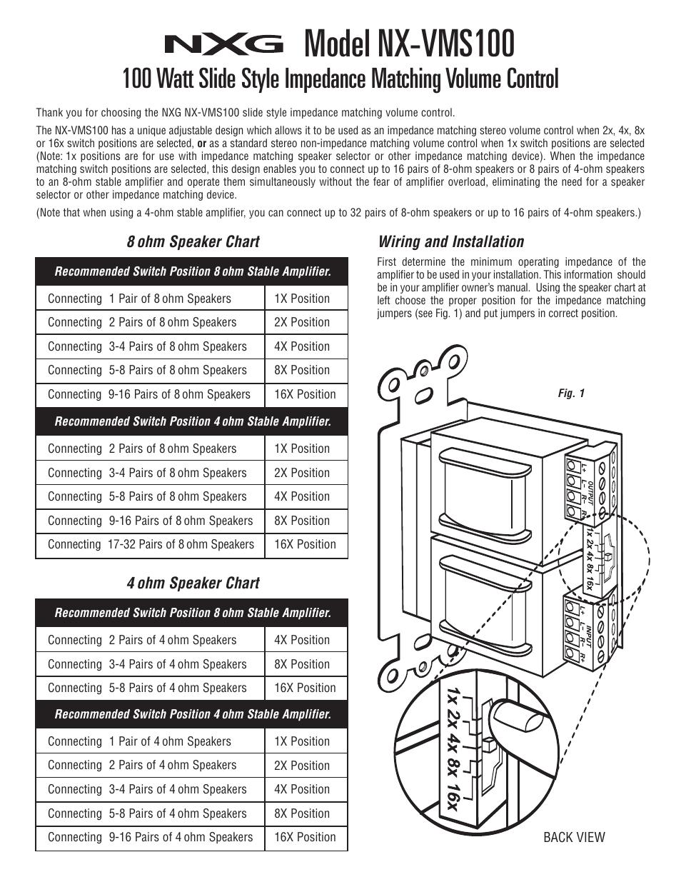 Wwwsammybonescom Speaker Wiring Diagram 8 Ohm Speaker Wiring Diagram ...