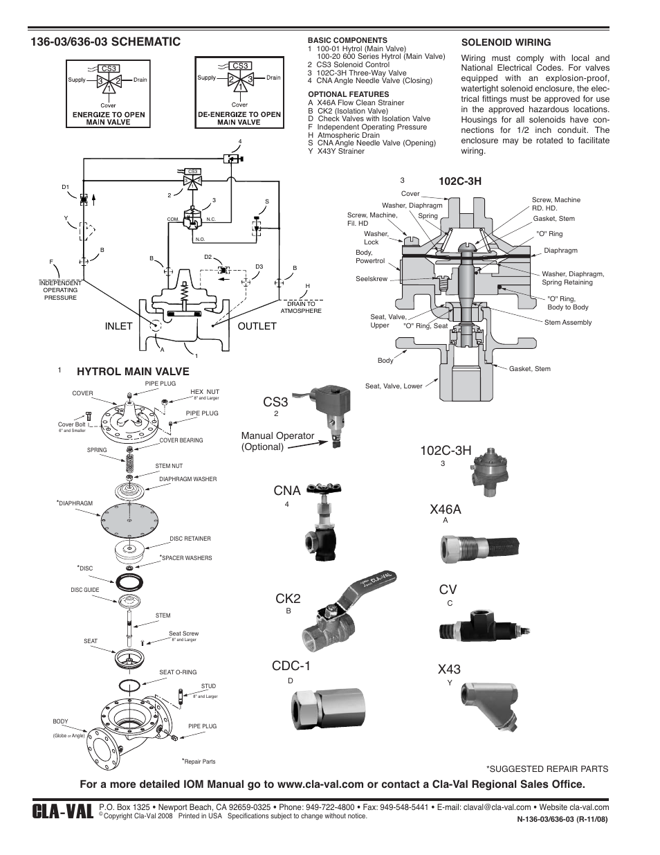 cla val 136 03_636 03 valve quick manual page2 tir3 wiring diagram dominator wiring diagram wiring diagram ~ odicis whelen tir3 wiring diagram at soozxer.org
