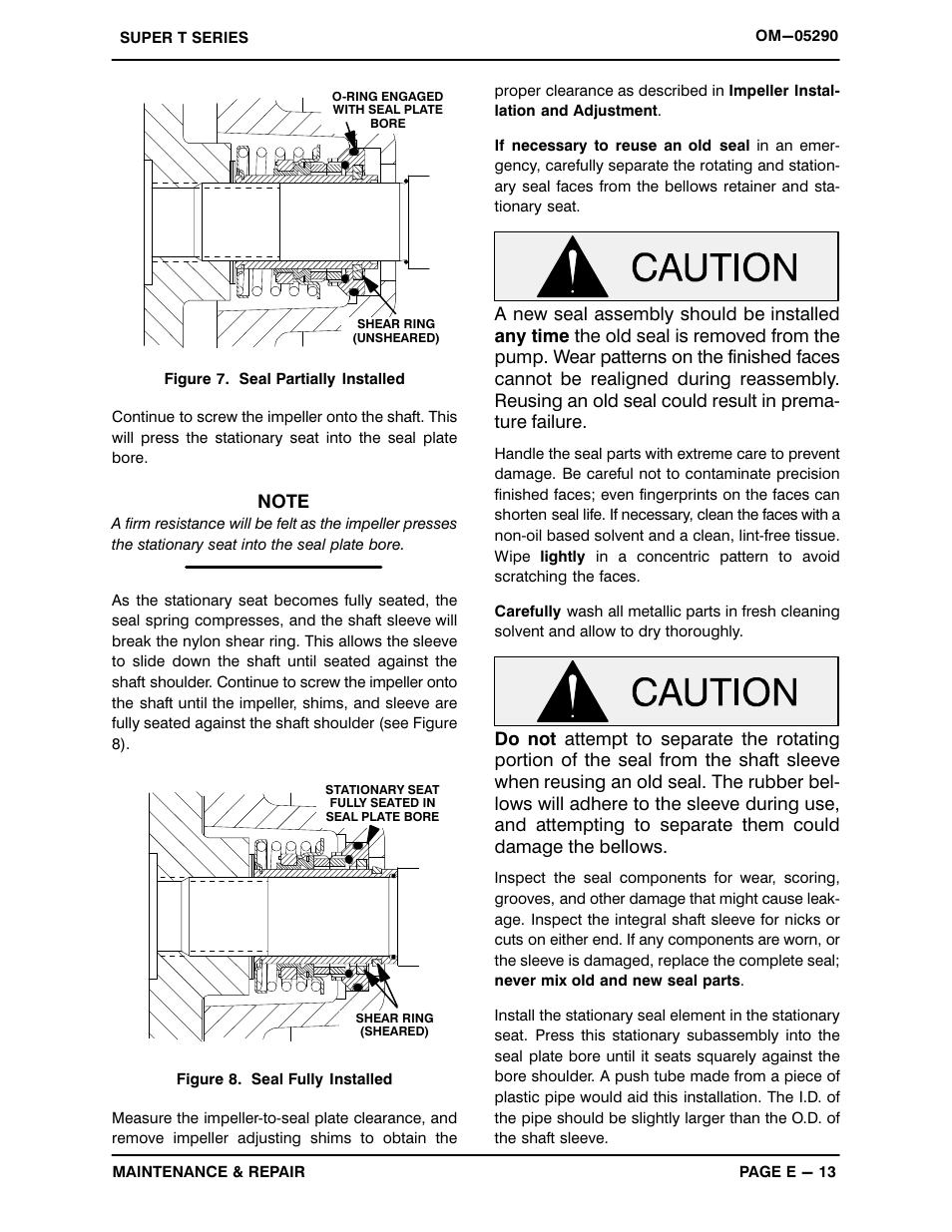 Gorman-Rupp Pumps T10A3S-B /FM,/WW User Manual | Page 34 / 38