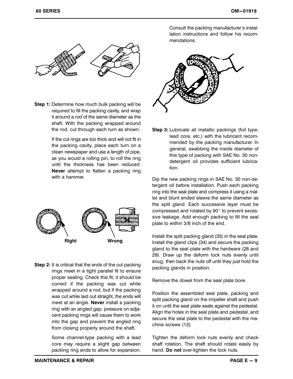 Gorman-Rupp Pumps 612L20B-B 806819 and up User Manual | Page 28 /