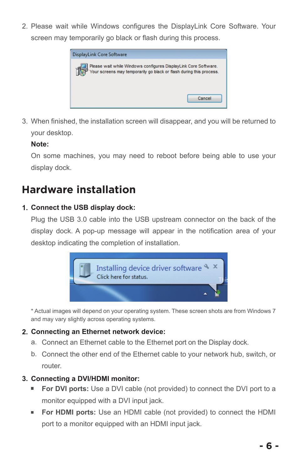 Hardware Installation