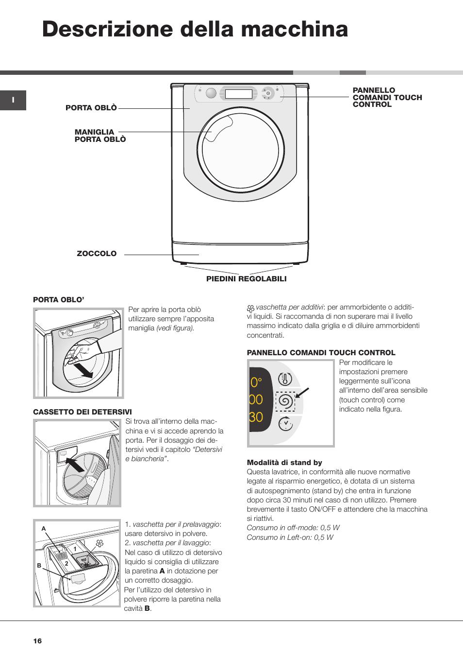 lavatrice ariston vaschetta ammorbidente non