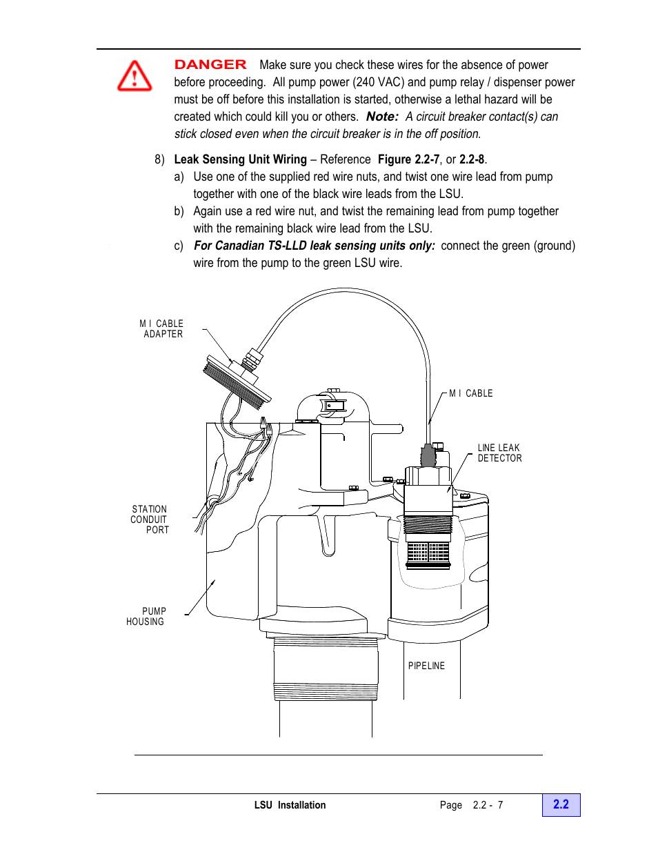 Franklin Fueling Systems Ts Lld Installation Manual User Leak Alarm Panel Wiring Diagram Page 25 86
