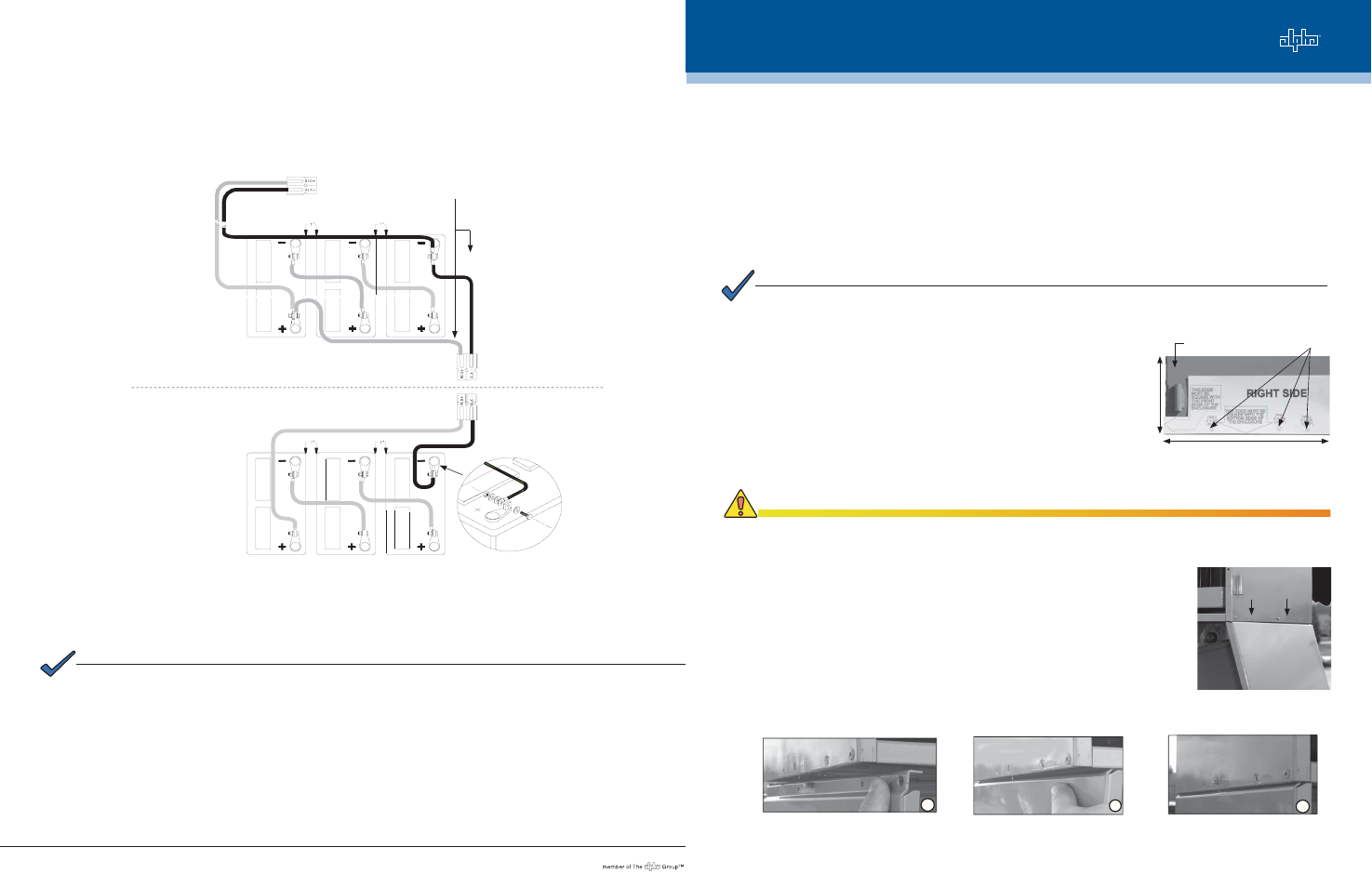 Alpha Technologies Undermount Pwe Series User Manual 2 Pages Wiring Diagram