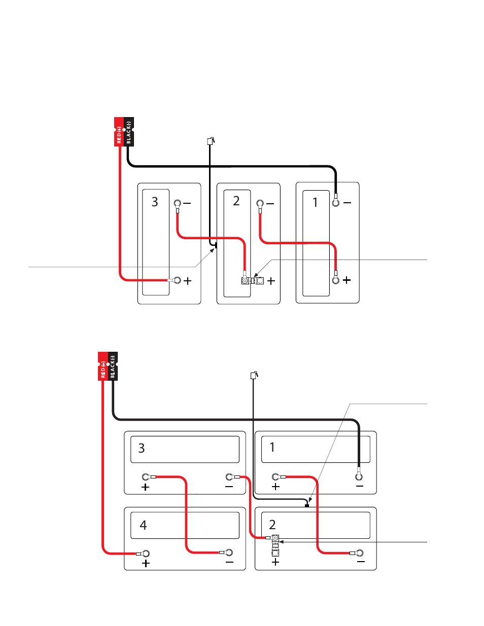 4 Battery Wiring Diagram Detailed Schematics Rack Alpha 5 Diagrams Technologies Pme Series User Selector Switch