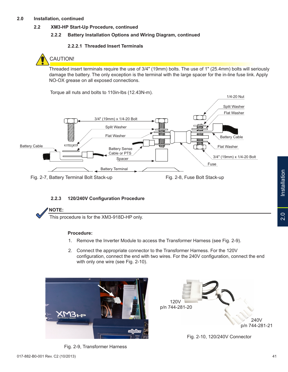 0 Installation Alpha Technologies Xm3 Hp Series Technical Manual 110v Plug Wiring Diagram In User Page 41 116