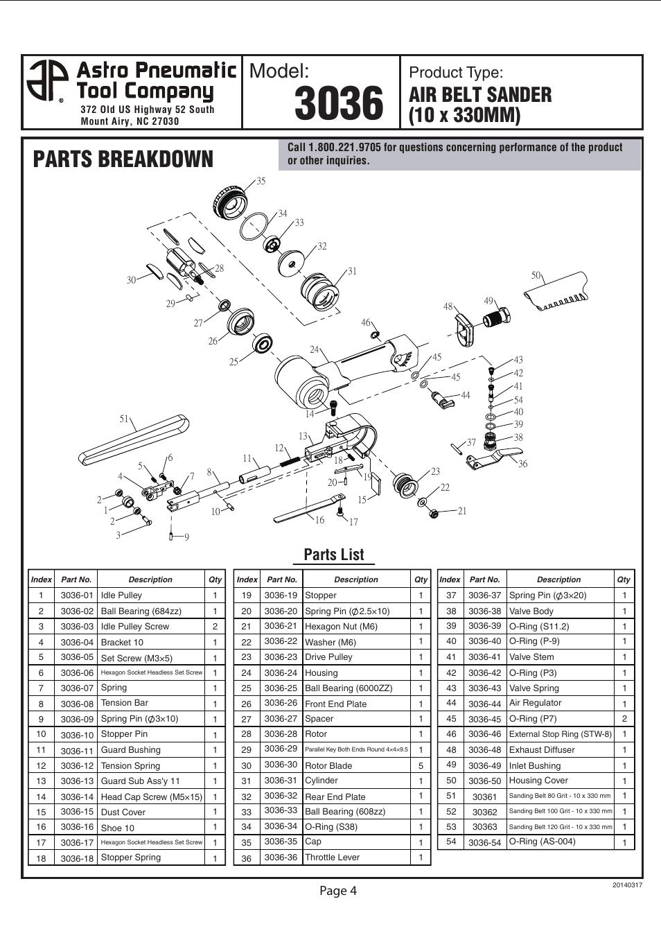 Belt Manual Mini Air Compressor Multipro Bc 075 Dmoo 3 4hp Array Parts Breakdown Model Product Type Astro Pneumatic 3036 Rh Manualsdir Com