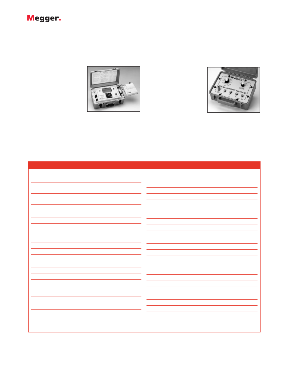 Three Phase Ttr Atec Megger 550503 User Manual Page 4 4