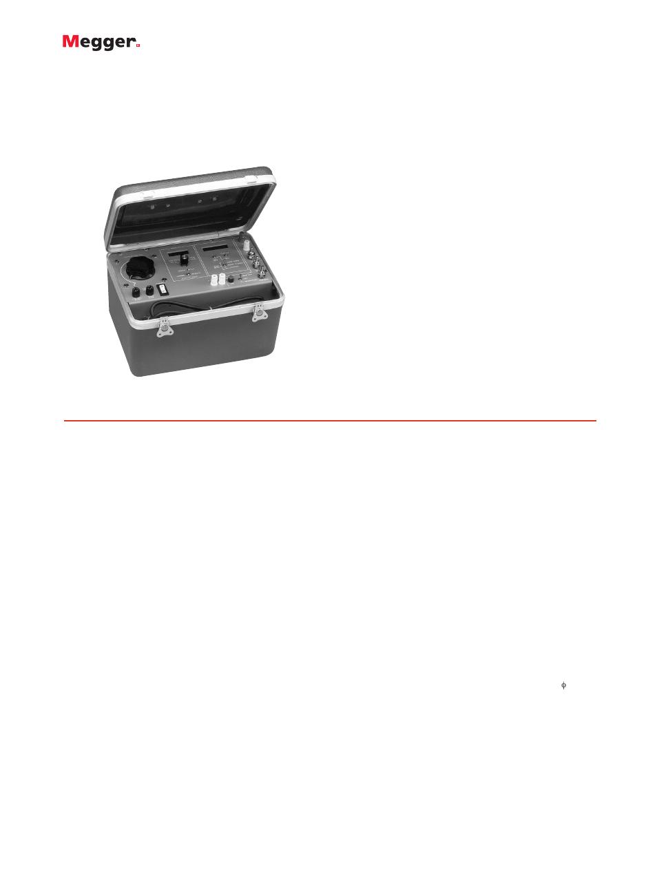 Atec Megger Multi Amp Ms 2 User Manual Pages Portable Circuit Breaker