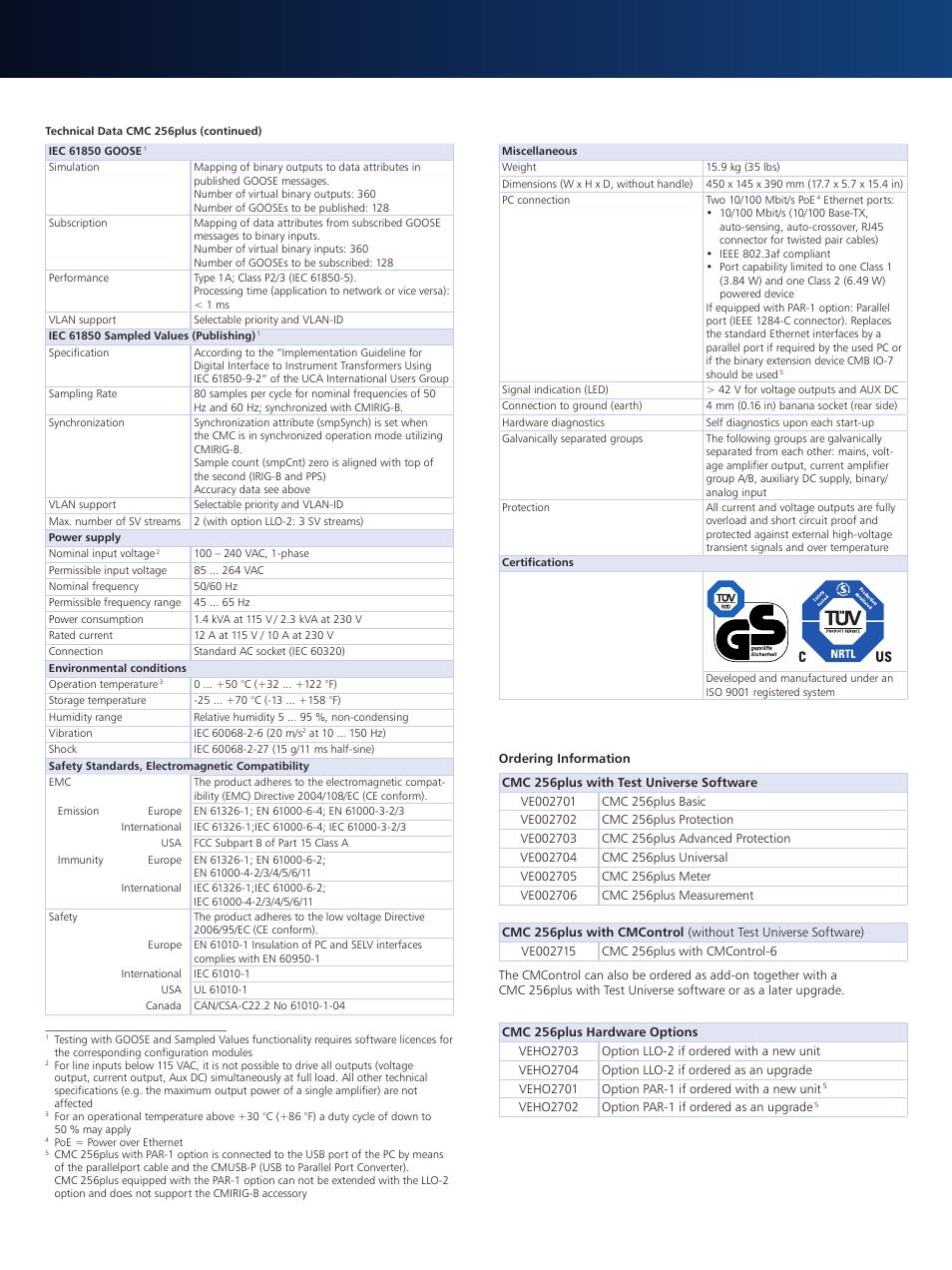 atec omicron cmc 256 plus user manual page 3 3 original mode rh manualsdir com Maintenance Manual Maintenance Manual