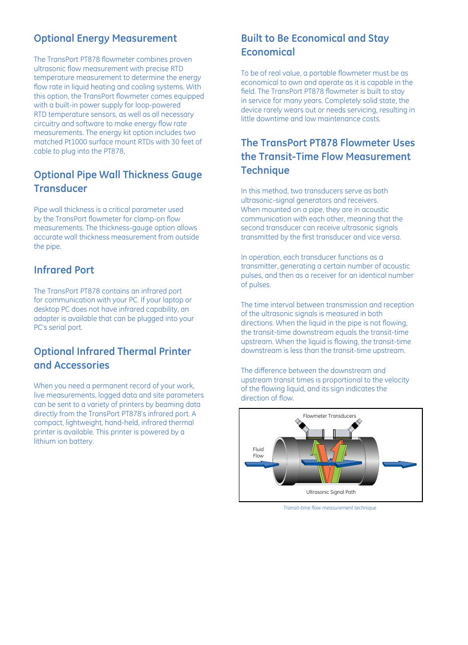 optional energy measurement optional pipe wall thickness gauge rh manualsdir com HP Printer Manuals PDF Hand Crank Manual Printer