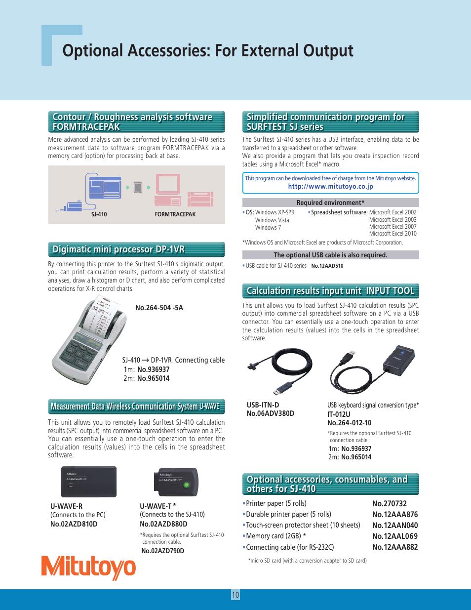 Mitutoyo user manual mitutoyo boregage boregaugemeasurement array optional accessories for external output measurement data wireless rh manualsdir com fandeluxe Images