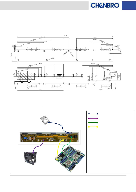 Backplane Assembly Wiring Chenbro Rm13604 6gb S 4 Port Sata Diagram 35 Sas 80h10313601a0 Rev A0 Manual User Page 10 11