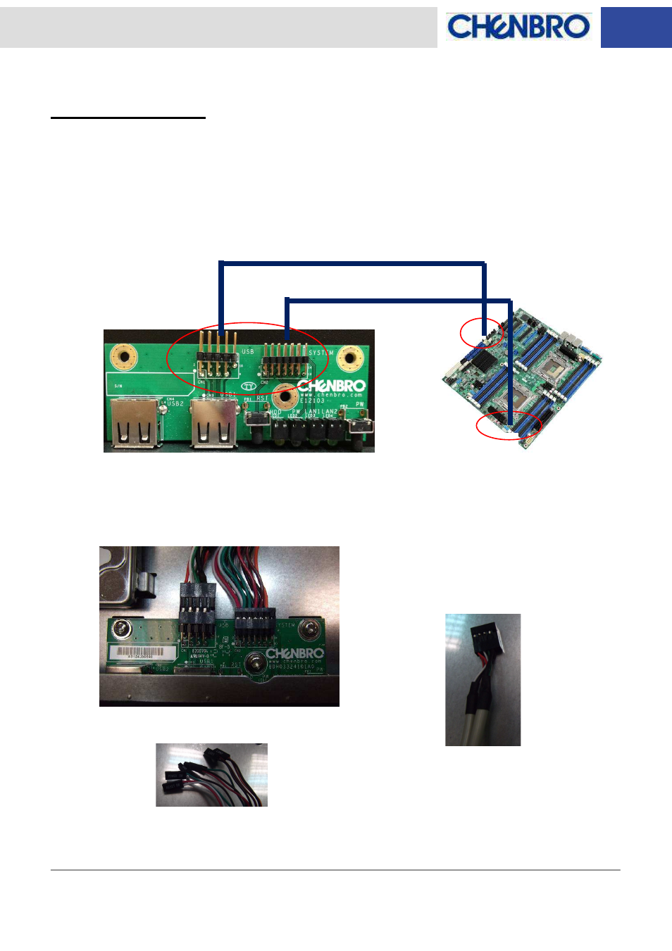 Led Board Wiring Chenbro Rm13604 Board80h03324101a0 Diagram Features And Jumper Settings Manual User Page 8