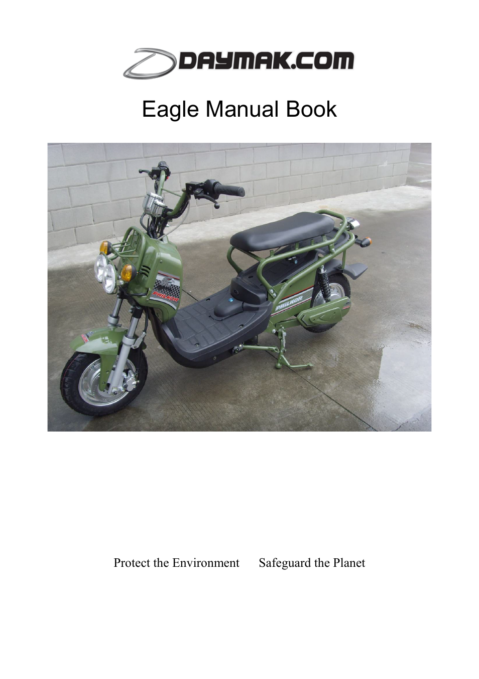 ... Array - daymak eagle user manual 6 pages rh manualsdir ...