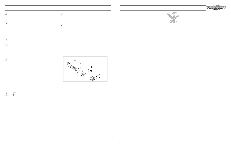 Maintenance, Safety precautions, Part three: lubrication   Tuff