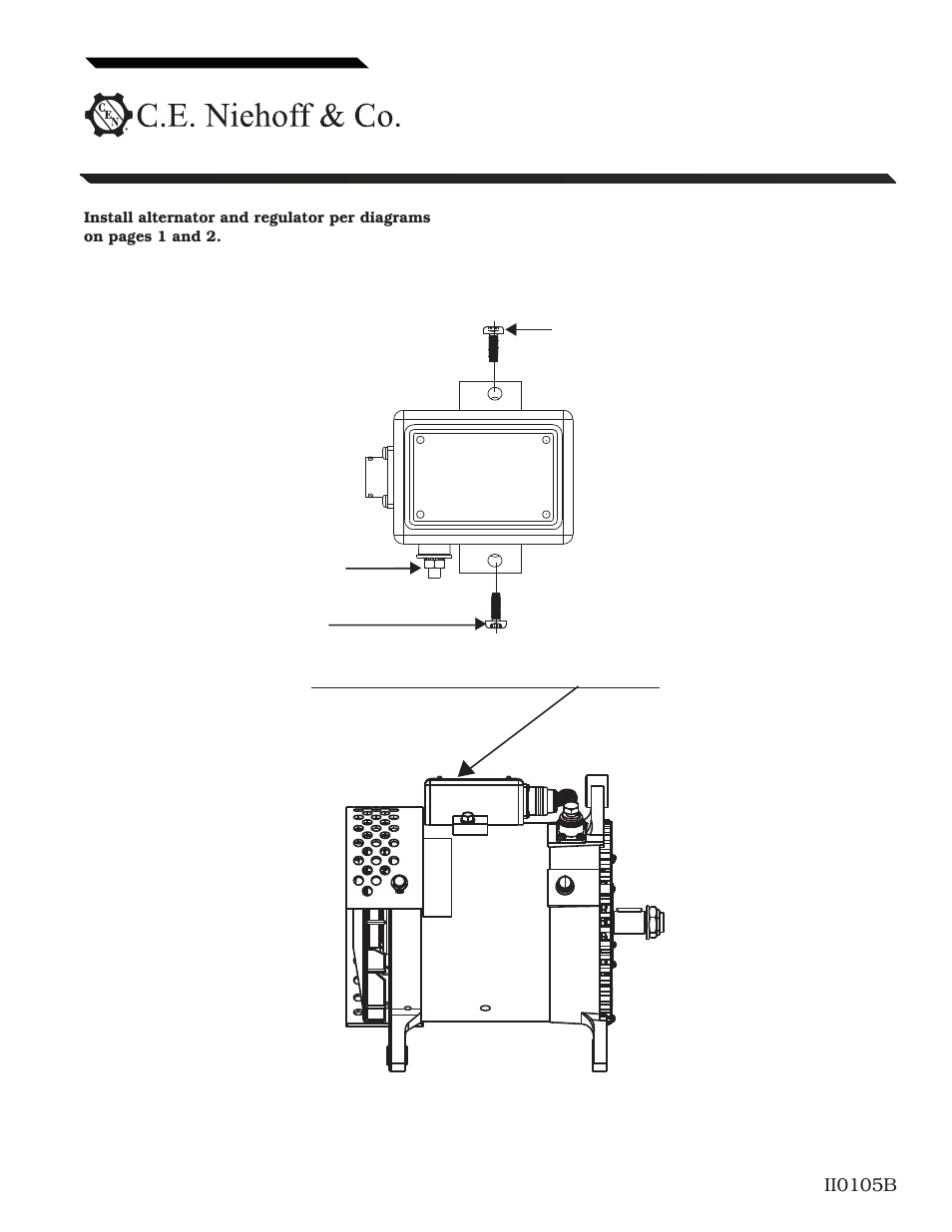 External Regulated Alternator Wiring Page1 Manual Guide