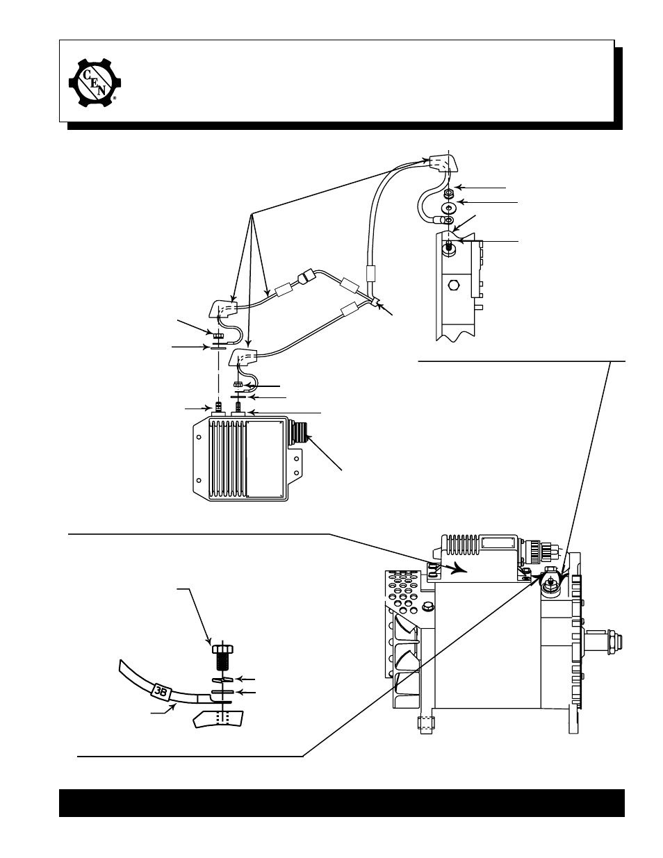 C E  Niehoff & Co  N1501 Alternator Installation User Manual | 1 page
